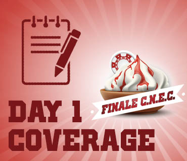 Coverage Finale CNEC 2018 Day 1