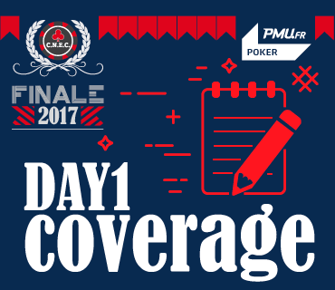 Coverage Finale CNEC 2017 Day 1