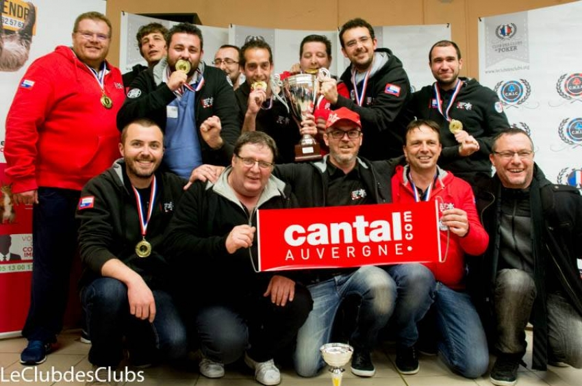 Le Cantal Poker Club remporte la finale du C.N.E.C. 2017