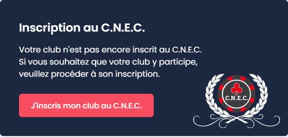 Inscription C.N.E.C.