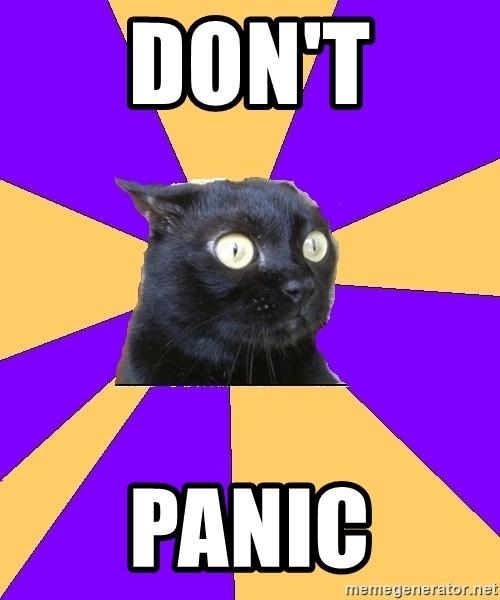 Dont't Panic !